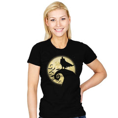 Nightmare Before The Bat - Womens - T-Shirts - RIPT Apparel