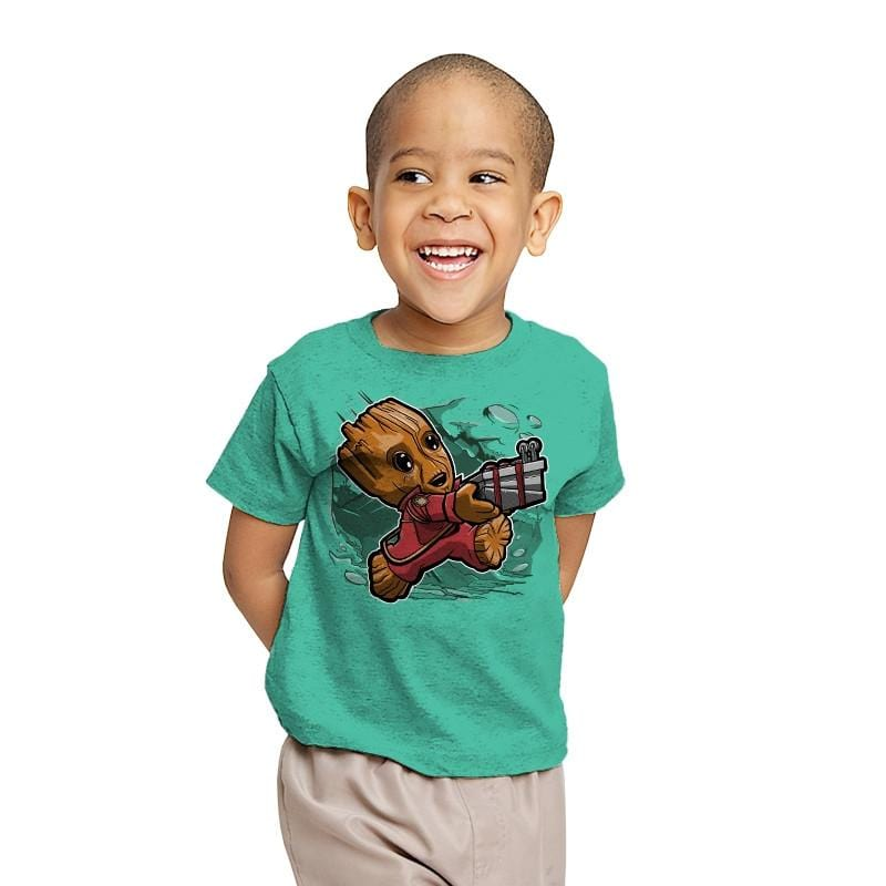 Super Tiny Guardian - Youth - T-Shirts - RIPT Apparel