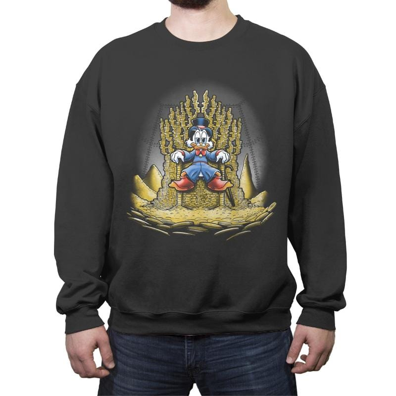 Gold Throne - Crew Neck Sweatshirt - Crew Neck Sweatshirt - RIPT Apparel