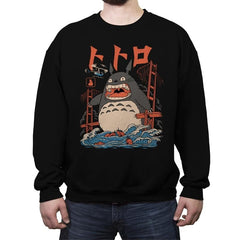 The Neighbor's Attack - Crew Neck Sweatshirt - Crew Neck Sweatshirt - RIPT Apparel