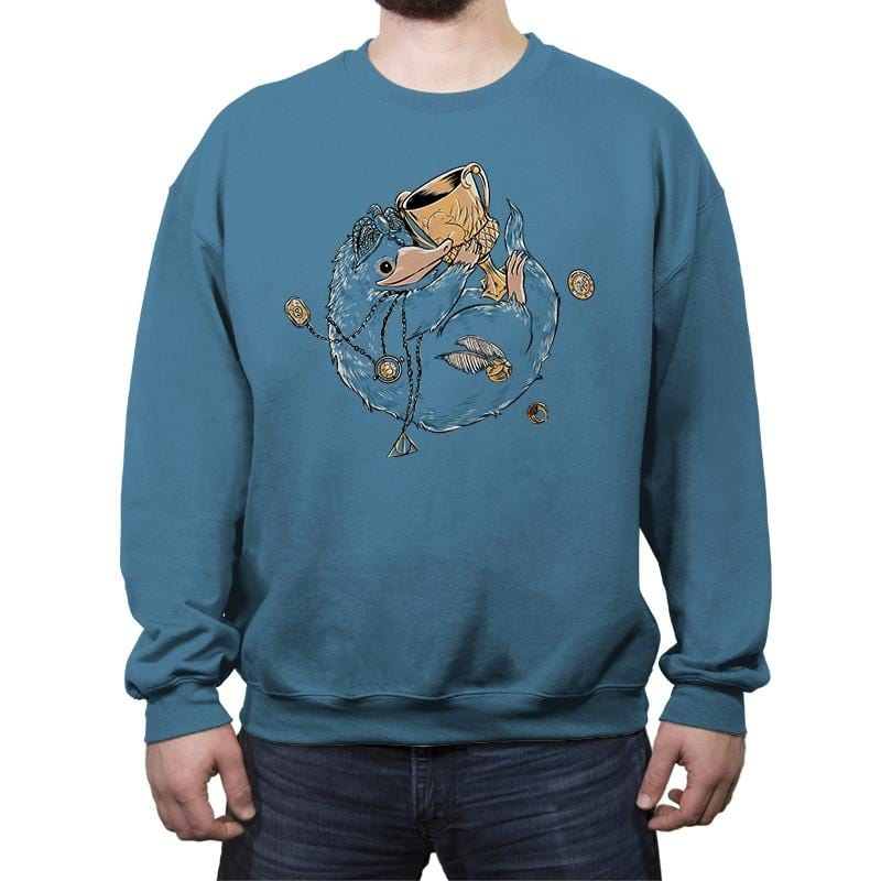Fantastic Thieves and Where to Find Them  - Crew Neck Sweatshirt - Crew Neck Sweatshirt - RIPT Apparel
