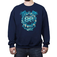 Awesome 80s Reprint - Crew Neck Sweatshirt - Crew Neck Sweatshirt - RIPT Apparel