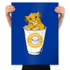 Hakuna Coffee - Prints - Posters - RIPT Apparel