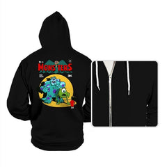 Monsters Comic - Hoodies - Hoodies - RIPT Apparel