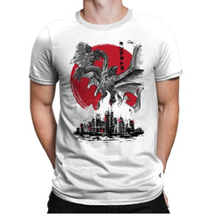 The King of Terror Attack - Mens Premium - T-Shirts - RIPT Apparel