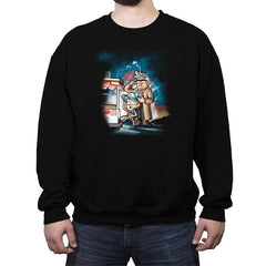 Back to the Gravity - Crew Neck Sweatshirt - Crew Neck Sweatshirt - RIPT Apparel