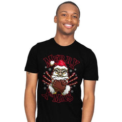 Merry X-Mas - Mens - T-Shirts - RIPT Apparel