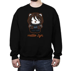 Hello Jyn - Crew Neck Sweatshirt - Crew Neck Sweatshirt - RIPT Apparel