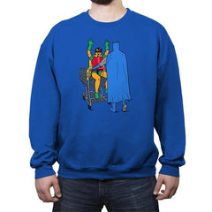 Shopping With The Boy - Crew Neck Sweatshirt - Crew Neck Sweatshirt - RIPT Apparel