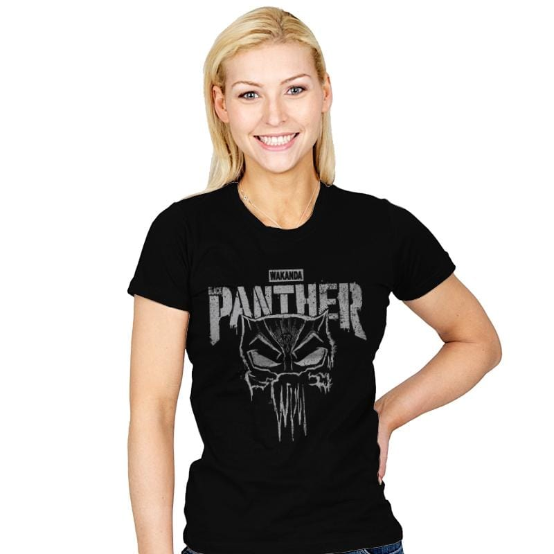 Punish Enemies of Wakanda - Womens - T-Shirts - RIPT Apparel