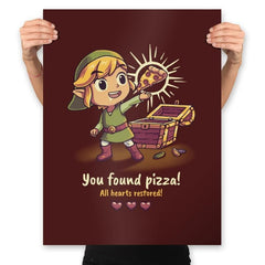 The Legendary Pizza - Prints - Posters - RIPT Apparel