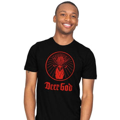 Deer God - Mens - T-Shirts - RIPT Apparel