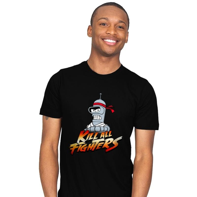 Kill all fighters - Mens - T-Shirts - RIPT Apparel