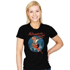 The Amazing Mom! - Womens - T-Shirts - RIPT Apparel