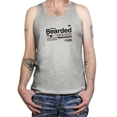 Fancy Bearded Hipster - Tanktop - Tanktop - RIPT Apparel