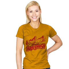 Incredible Smash - Womens - T-Shirts - RIPT Apparel
