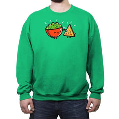 Chips And Guac - Crew Neck Sweatshirt - Crew Neck Sweatshirt - RIPT Apparel