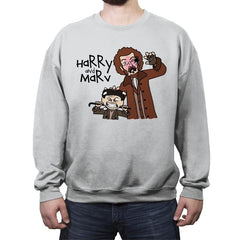 Harry and Marv! - Crew Neck Sweatshirt - Crew Neck Sweatshirt - RIPT Apparel
