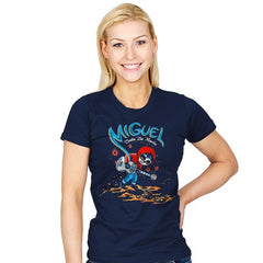 Miguel VS The Dead - Womens - T-Shirts - RIPT Apparel