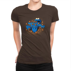 Gulliver Monster - Pop Impressionism - Womens Premium - T-Shirts - RIPT Apparel