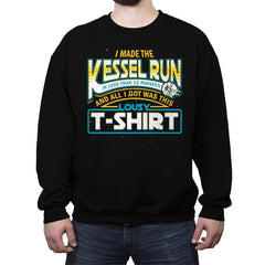 I Made the Kessel Run - Crew Neck Sweatshirt - Crew Neck Sweatshirt - RIPT Apparel