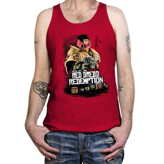 Red Dredd - Tanktop - Tanktop - RIPT Apparel