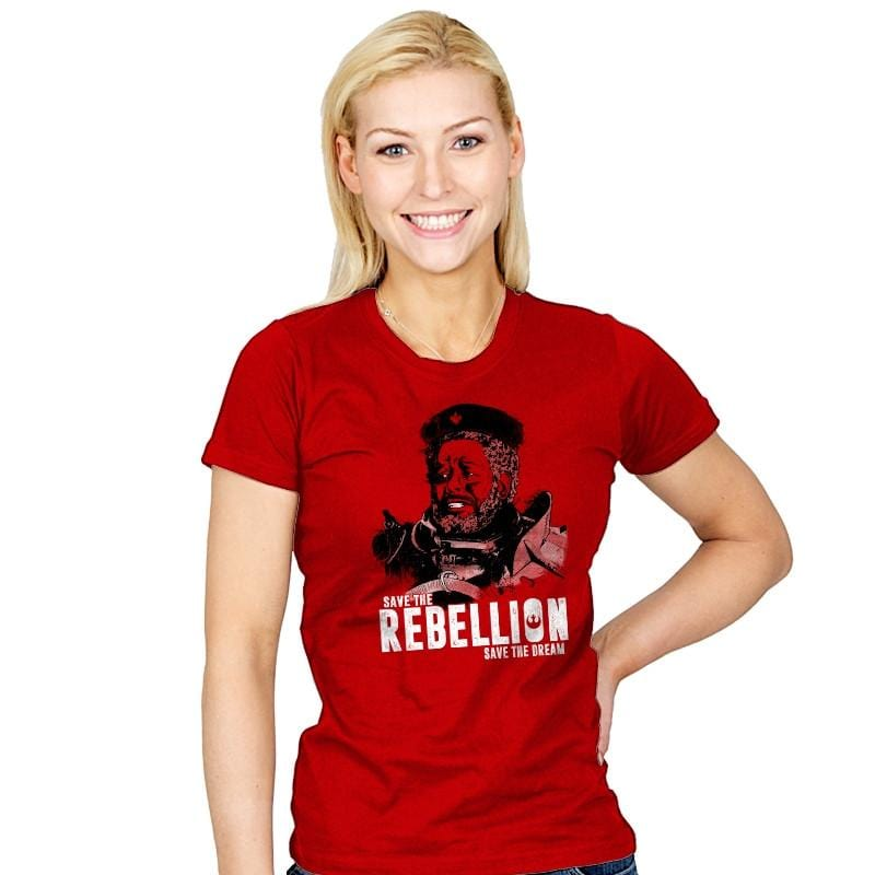 Save The Rebellion - Womens - T-Shirts - RIPT Apparel