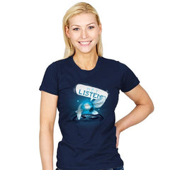 Hey Listen! - Art Attack - Womens - T-Shirts - RIPT Apparel