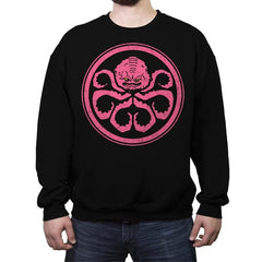 Hail Krang - Crew Neck Sweatshirt - Crew Neck Sweatshirt - RIPT Apparel