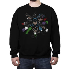 Batwick - Anytime - Crew Neck Sweatshirt - Crew Neck Sweatshirt - RIPT Apparel