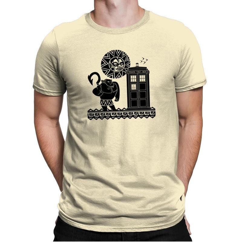 Maui Meets The Doctor Exclusive - Mens Premium - T-Shirts - RIPT Apparel