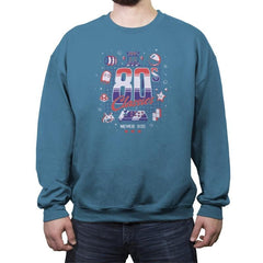 80s Classics Never Die - Crew Neck Sweatshirt - Crew Neck Sweatshirt - RIPT Apparel