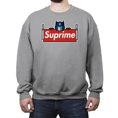 SUPRIME - Crew Neck Sweatshirt - Crew Neck Sweatshirt - RIPT Apparel