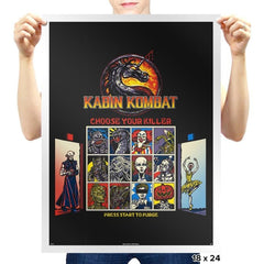 Kombat in the Woods Exclusive - Dead Pixels - Prints - Posters - RIPT Apparel