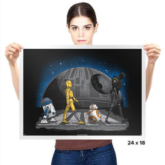 Droid Road Exclusive - Prints - Posters - RIPT Apparel
