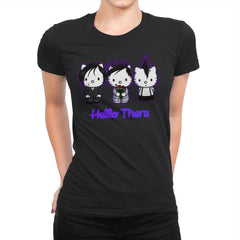 Emo Kitties - Womens Premium - T-Shirts - RIPT Apparel