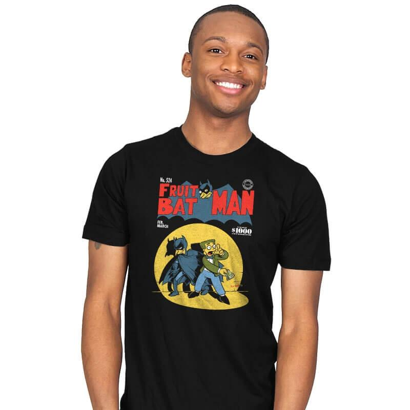 Fruitbat Man - Mens - T-Shirts - RIPT Apparel