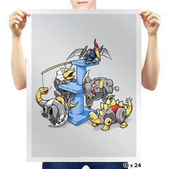 Dinopets - Prints - Posters - RIPT Apparel