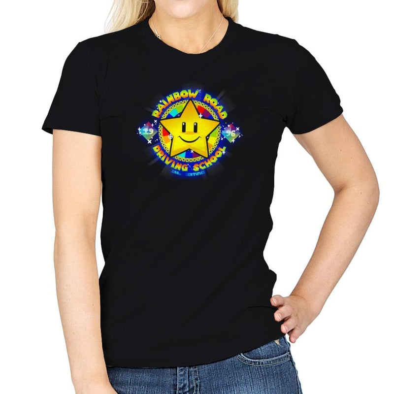 RR Driving School Exclusive - Womens - T-Shirts - RIPT Apparel