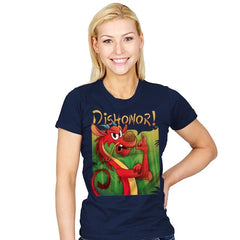 Dishonor! - Womens - T-Shirts - RIPT Apparel