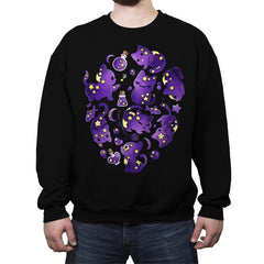 Cat Star - Crew Neck Sweatshirt - Crew Neck Sweatshirt - RIPT Apparel
