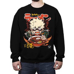 Spicy Explosion Ramen  - Crew Neck Sweatshirt - Crew Neck Sweatshirt - RIPT Apparel