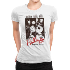 Halloweenblanca - Womens Premium - T-Shirts - RIPT Apparel
