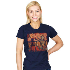 Starry Titan - Womens - T-Shirts - RIPT Apparel