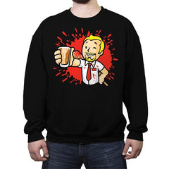 Zombie Boy - Crew Neck Sweatshirt - Crew Neck Sweatshirt - RIPT Apparel