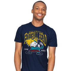 Football Head - Mens - T-Shirts - RIPT Apparel