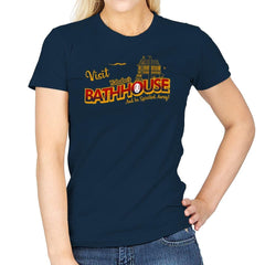 Visit the Bathhouse - Womens - T-Shirts - RIPT Apparel