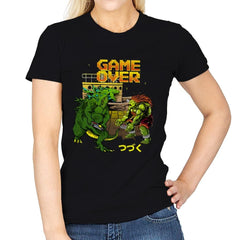 Game Over - Womens - T-Shirts - RIPT Apparel