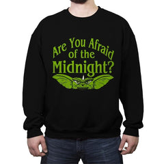 Are you afraid of the Midnight? - Crew Neck Sweatshirt - Crew Neck Sweatshirt - RIPT Apparel