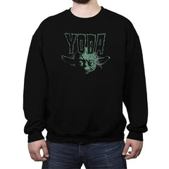 Yodazig - Crew Neck Sweatshirt - Crew Neck Sweatshirt - RIPT Apparel